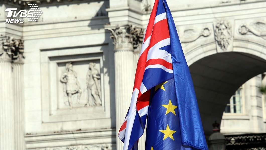 示意圖/TVBS 歐洲法院:英國可單方面撤回脫歐決定