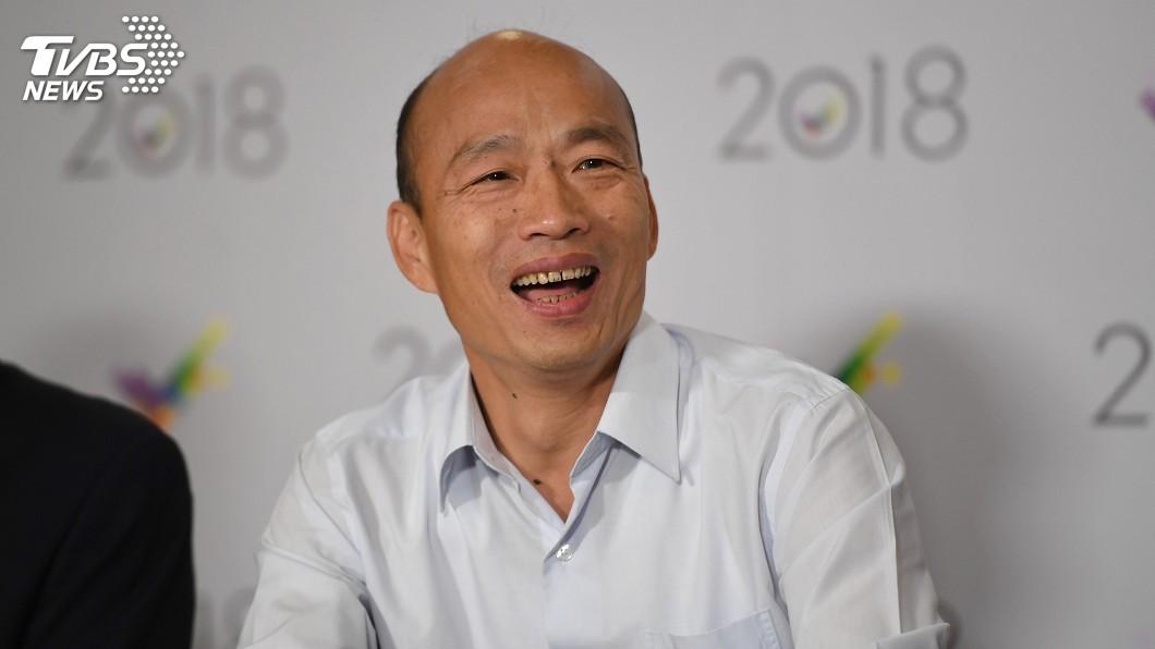 命理師小孟預測,韓國瑜8月後會遇到危機。圖/中央社 「韓流」剩半年?他預測韓國瑜將陷入大危機