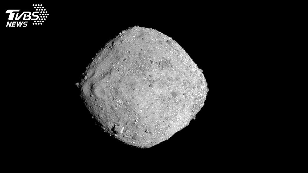 圖/達志影像美聯社 NASA發現水蹤跡 小行星貝努藏生命起源線索