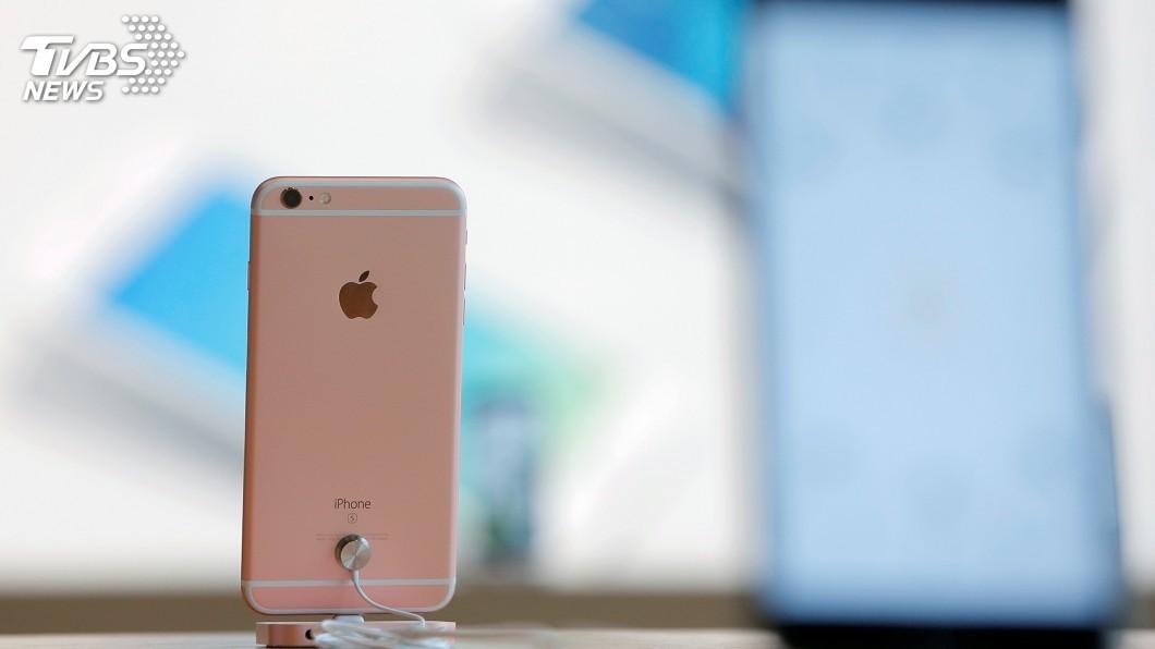 圖/達志影像路透社 中國判禁售7款iPhone 可能促蘋果與高通和解