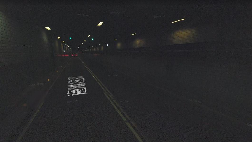 隧道內常會有許多好兄弟在裡面。(圖/翻攝自Google Map) 進過港隧道3歲兒突喊「好多鬼啊」 母嚇:剛有人車禍亡