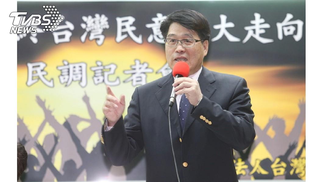 圖/中央社 卓榮泰質疑反蔡總統連任 游盈隆:見獵心喜