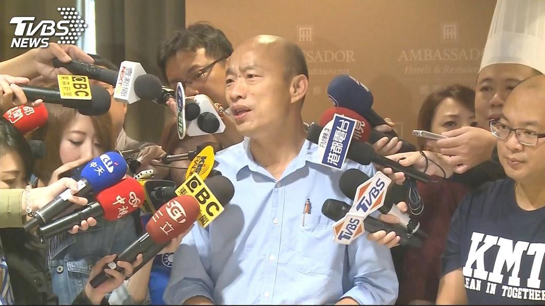 圖/TVBS資料畫面 王浩宇嗆「泡泡會吹破」 韓國瑜:他是議員?罵我要排隊