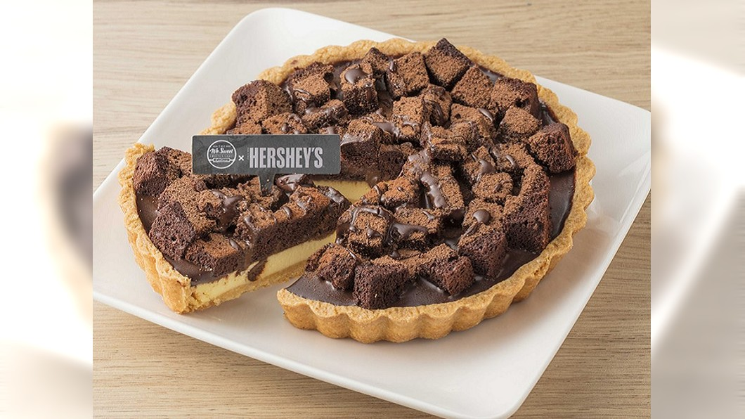 經典巧克力維也納派。圖/全聯提供 全聯聯名Hershey's強勢回歸 推17款超值商品