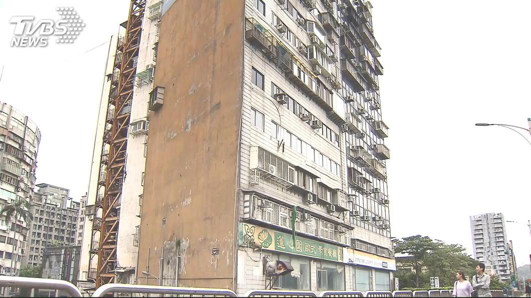 台北市知名凶宅錦新大樓5日發生墜樓事件。(圖/TVBS資料畫面) 北市最猛凶宅錦新大樓「25人斷魂」 投資客轉手照賺