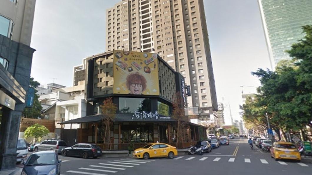 圖/翻攝自Google Map網站 巧合!納豆台中燒肉店與陰廟「撞門牌」收攤