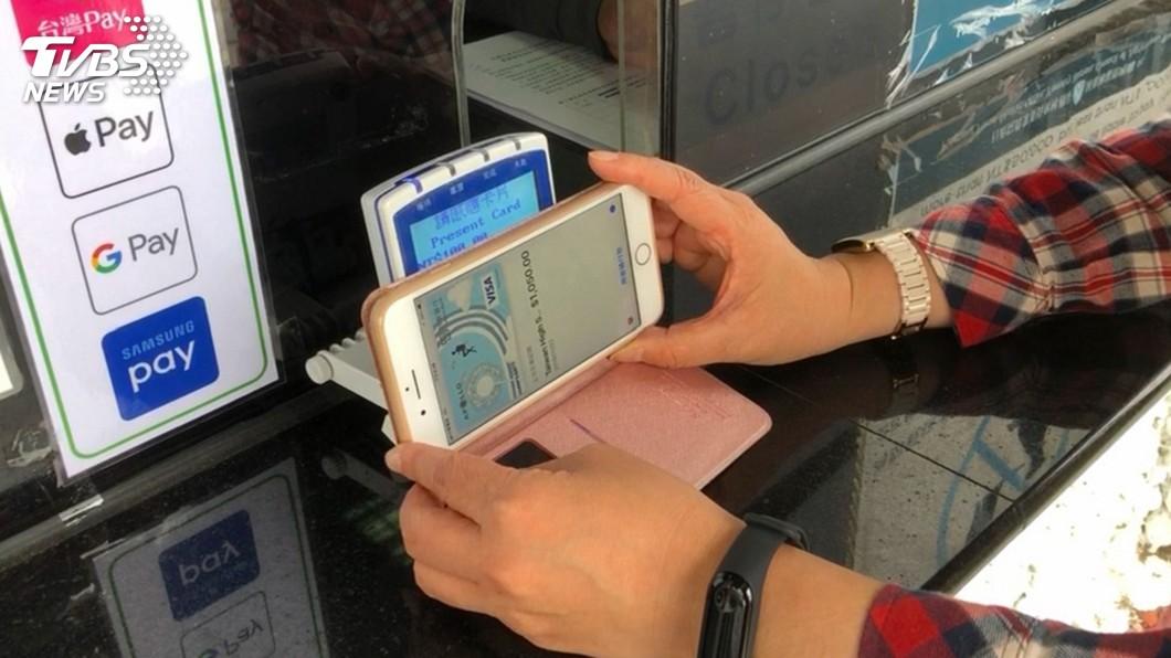 圖/中央社 遊國家森林遊樂區 手機就能買門票好方便