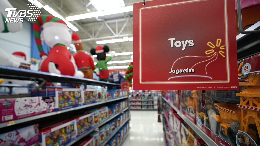 圖/達志影像美聯社 玩具鉛含量超標10倍 紐約州控告大型零售商