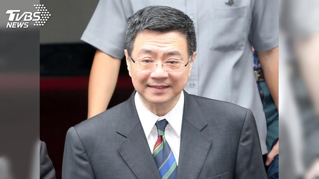 圖/中央社 卓榮泰參選黨主席 跨派系喊共同承擔