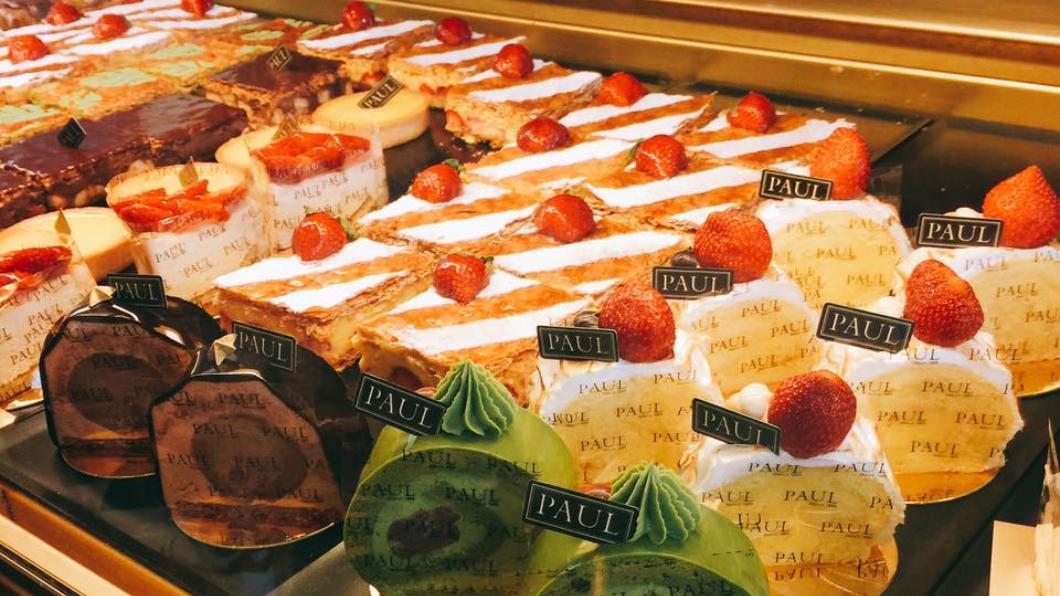 翻攝/PAUL Taiwan臉書 壽星好幸福!自助餐半價、「蛋糕千層派」免費吃
