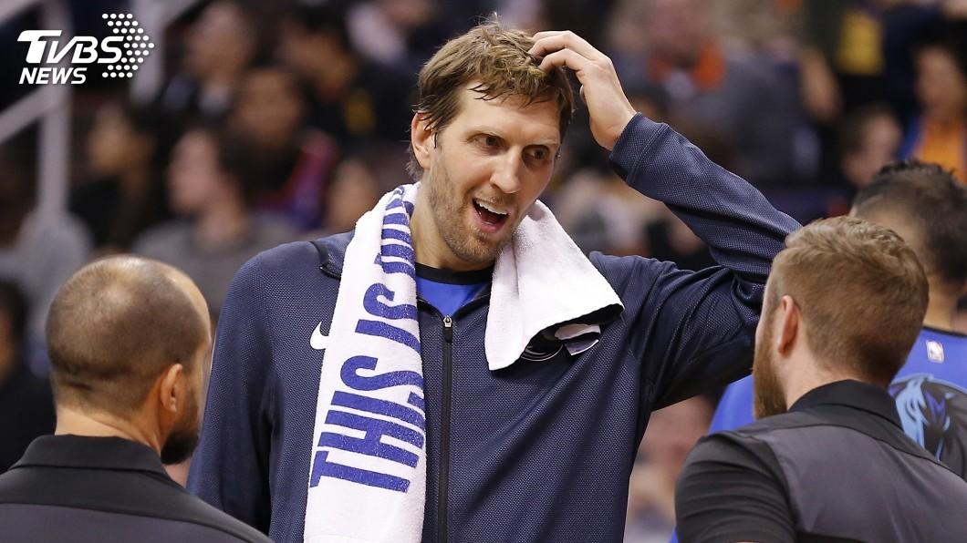 圖/達志影像美聯社 NBA第一人! 諾威茨基效力單一球隊21年