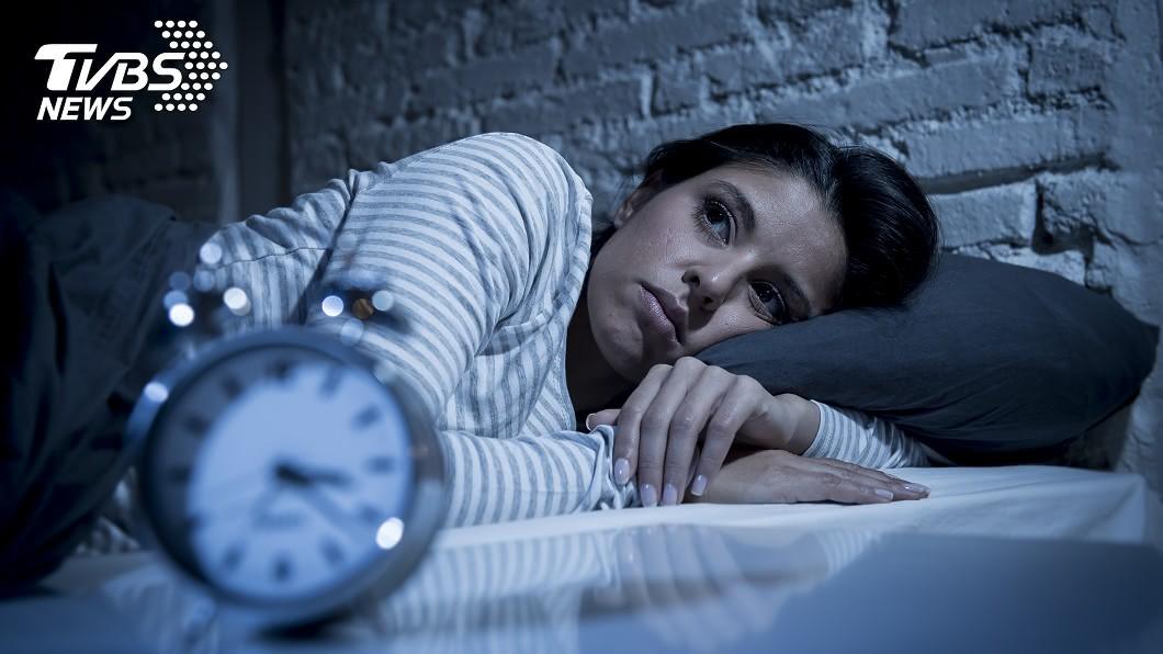 失眠是現代人常有的毛病。示意圖/TVBS 失眠別急著吃藥!NASA太空人授7招 讓你到哪都好睡