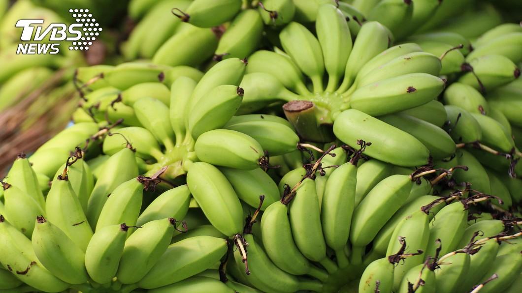 生香蕉有許多不為人知的功效。示意圖/TVBS 生香蕉助消化還能減肥! 快來看看它的9大功效