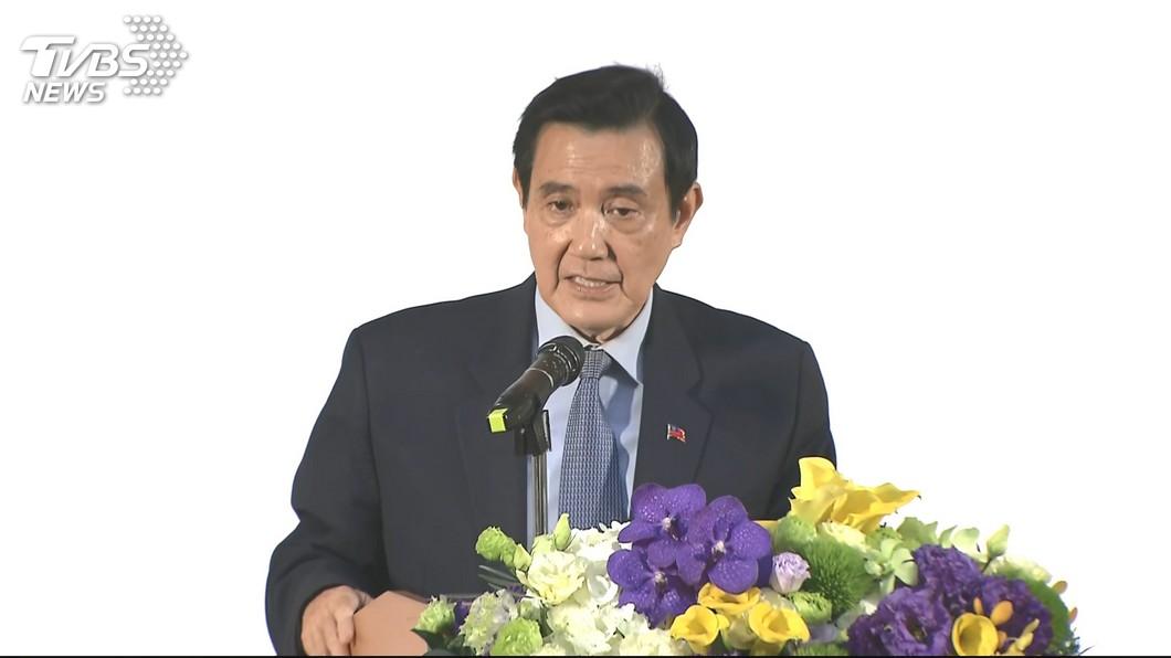圖/TVBS 外界拱韓國瑜參選總統 馬英九:要看他意願