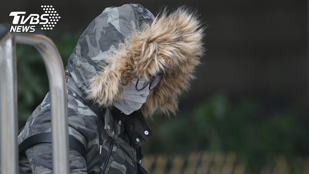 示意圖/中央社 低溫特報來了!5縣市今晚至明晨低溫恐不到10度