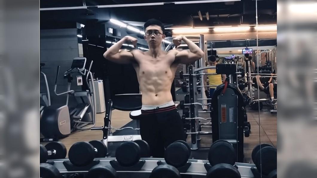圖/翻攝自YouTube 臉書關閉改YouTube 孫安佐健身大秀肌肉