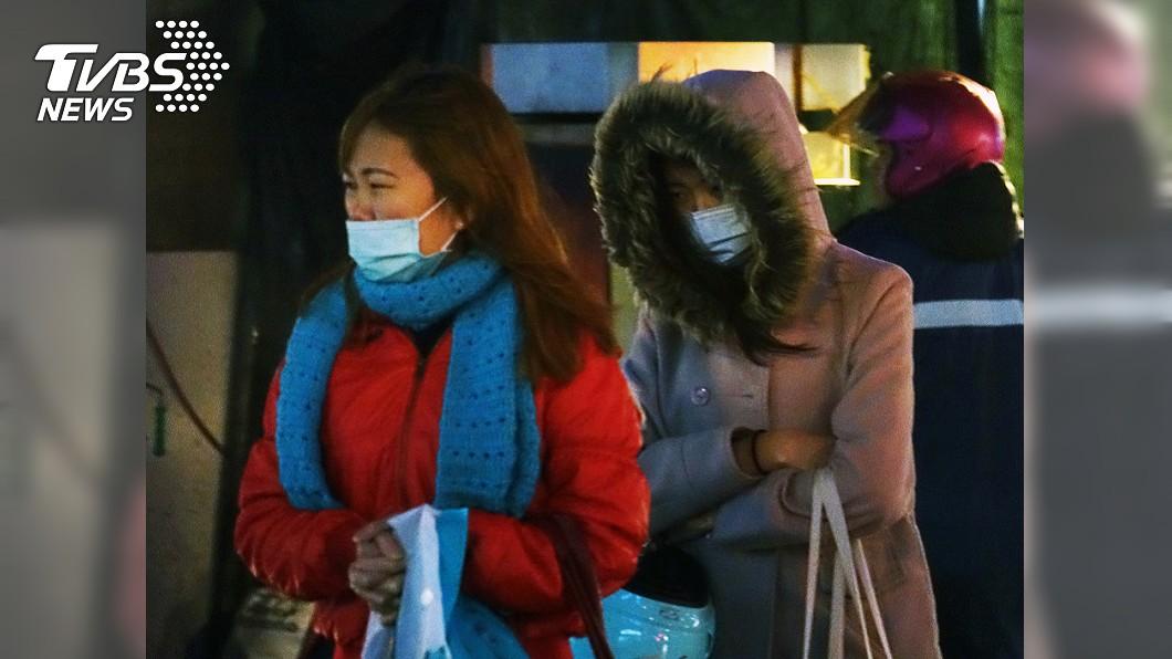 圖/中央社 才剛開始冷!首波大陸冷氣團發威 今晚明晨凍12度