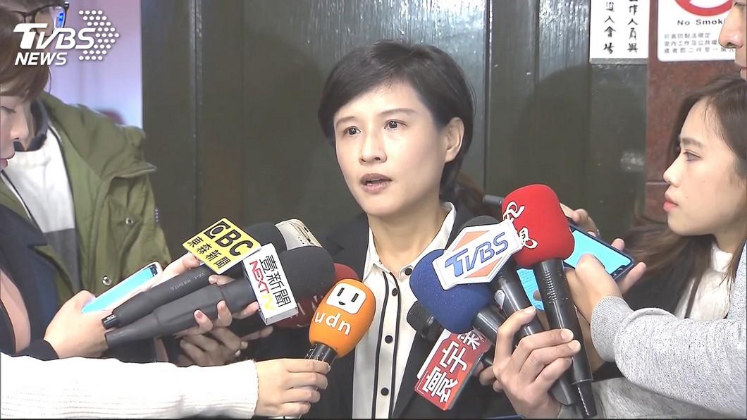文化部長鄭麗君。圖/TVBS 蘇貞昌三度懇談 鄭麗君同意留任文化部長