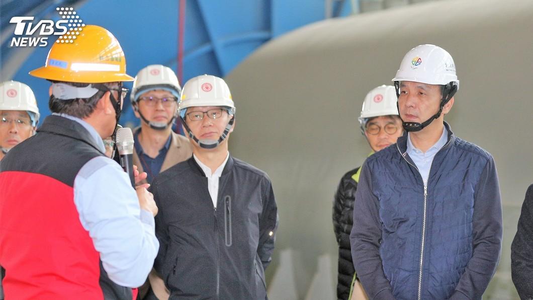 圖/中央社 林口電廠三號機試車 朱立倫親訪澄清未卡關