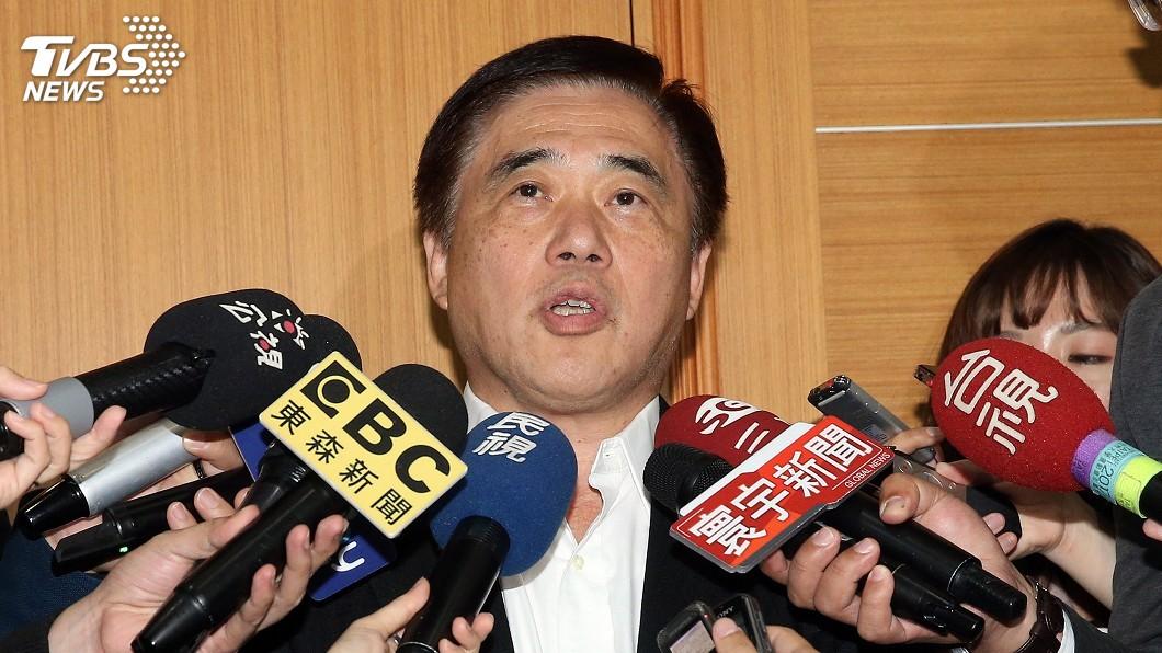 圖/中央社 2020藍營總統初選 郝龍斌:不支持賽前改規則