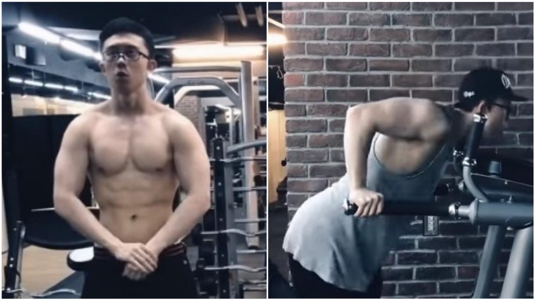 圖/翻攝自Sun Edward YouTube  孫安佐回台秀肌肉拍影片 每月練肌金額曝光