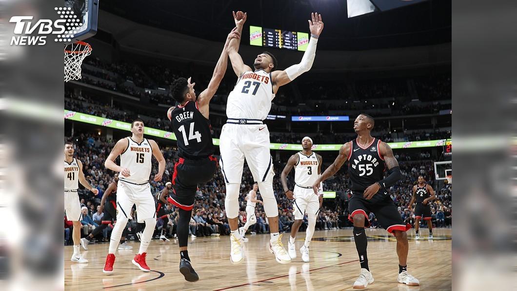 圖/達志影像美聯社 NBA東西區龍頭交鋒 金塊逆轉勝暴龍