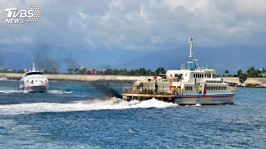 圖/TVBS 颱風白鹿來襲 東琉線交通船24日停駛