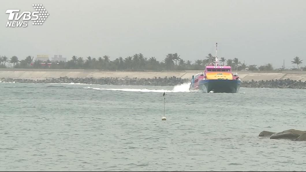 示意圖/TVBS 颱風利奇馬漸逼近 綠島撤離近1700名旅客