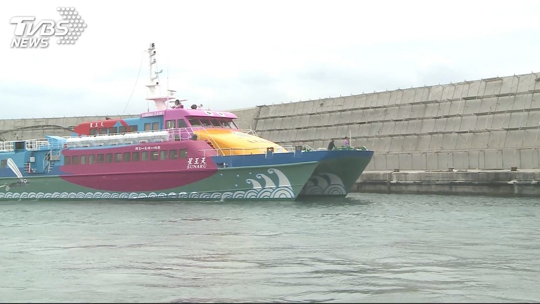 示意圖/TVBS 颱風外圍環流影響 台東往返綠島蘭嶼船班異動