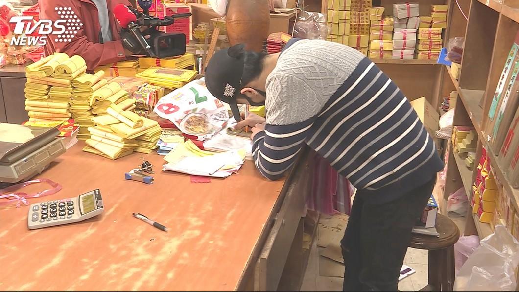 圖/TVBS 助孝子維修法拉利費用 科大校長捐款打氣