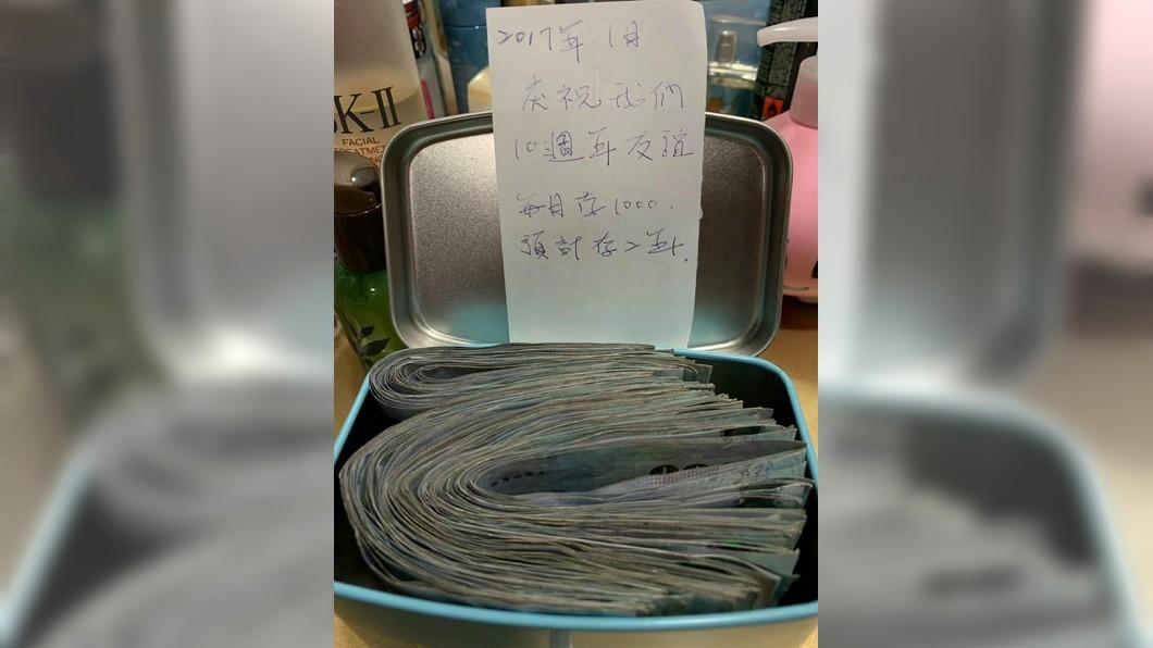 圖/截取自臉書爆廢公社 她們2年存10萬 「夢想基金」見證友誼!