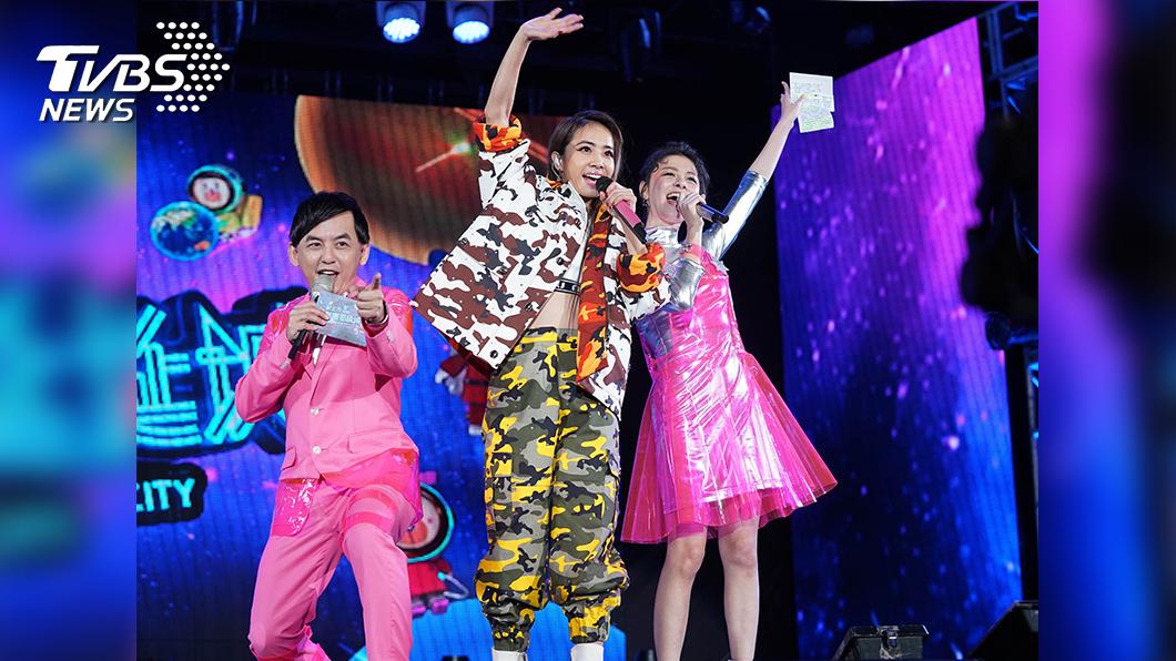 圖/TVBS 《巨星耶誕演唱會》吸睛   AR擴增實境吸引百萬收視