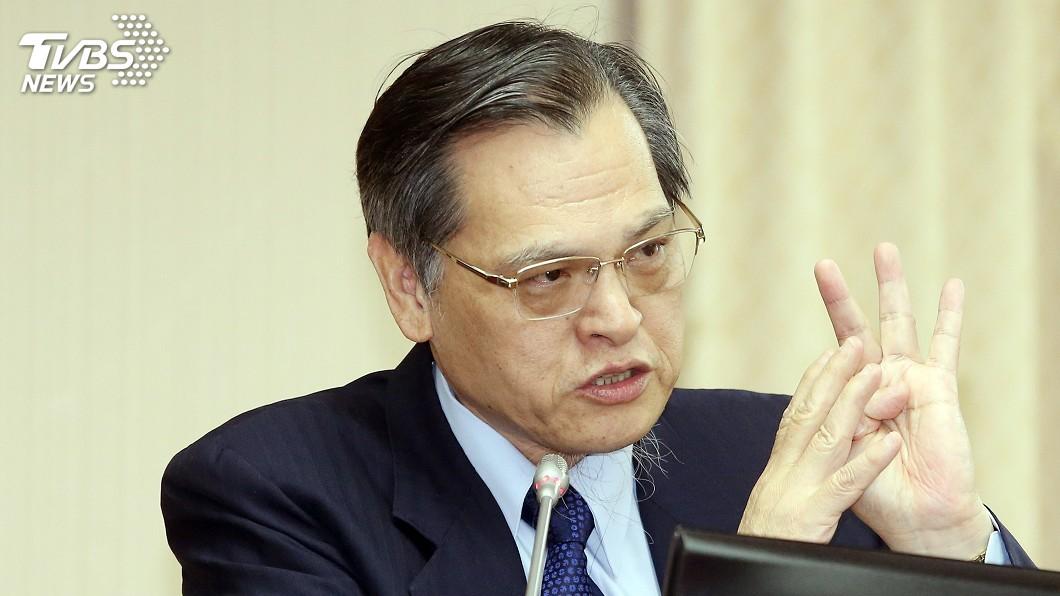 圖/中央社 兩岸和平協議須公投 陳明通:不是要擋誰的問題