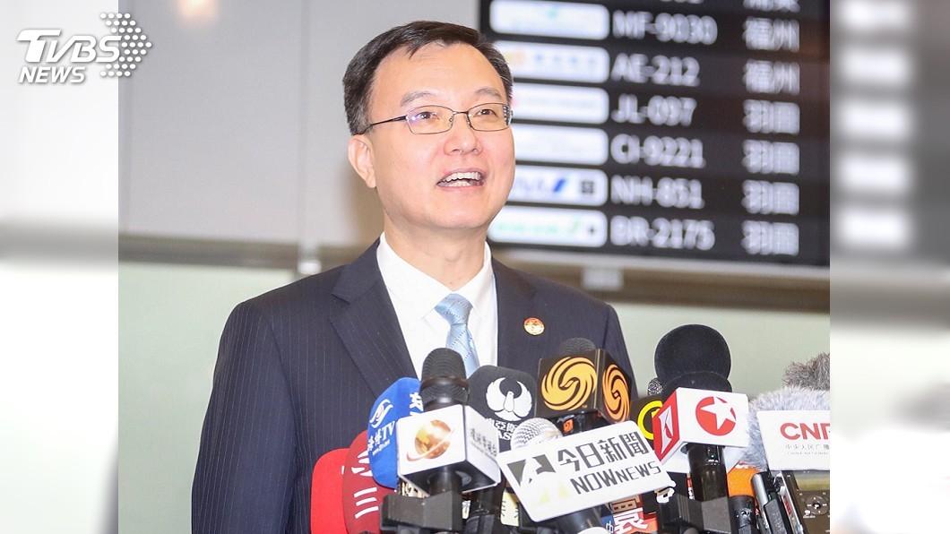 上海副市長周波。圖/中央社