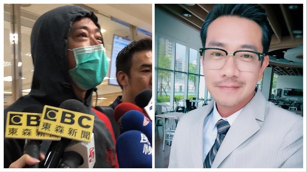 圖/翻攝自江俊翰臉書、中央社 江俊翰47歲生日獲「重生」 吸毒判緩起訴2年