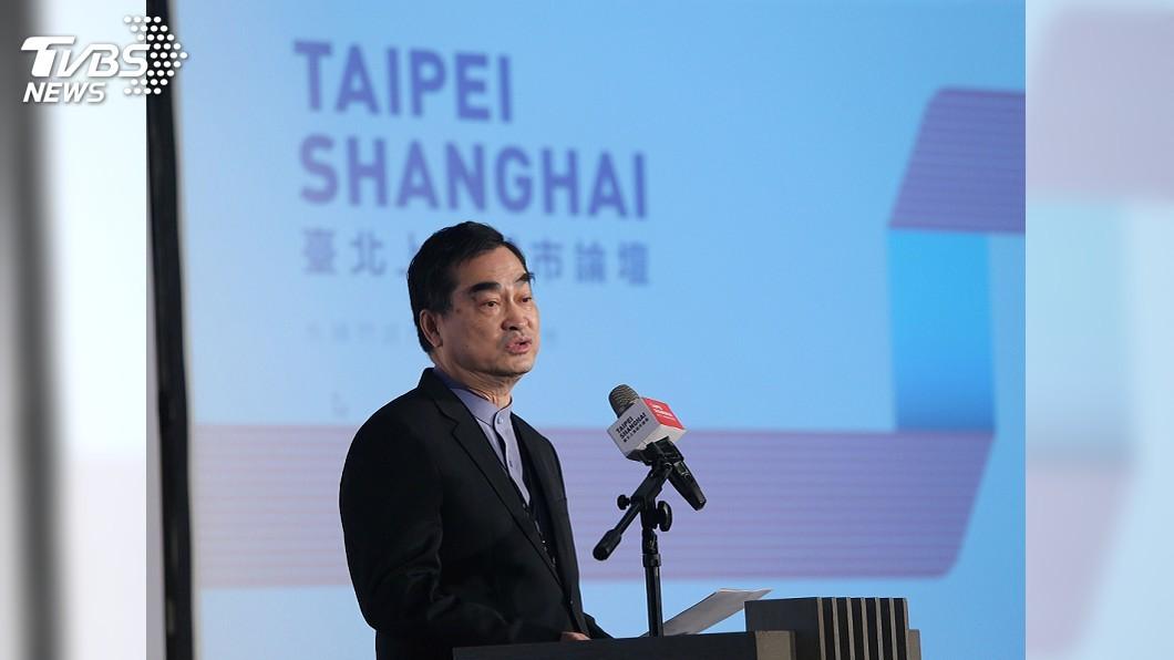 圖/中央社 雙城論壇續辦 鄧家基:藍綠白有共識擴大交流