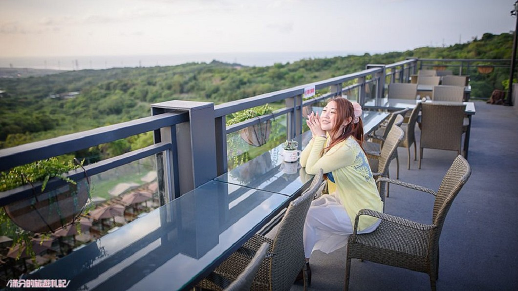 古山星辰景觀咖啡廳。圖/翻攝自臉書「滿分的旅遊札記」