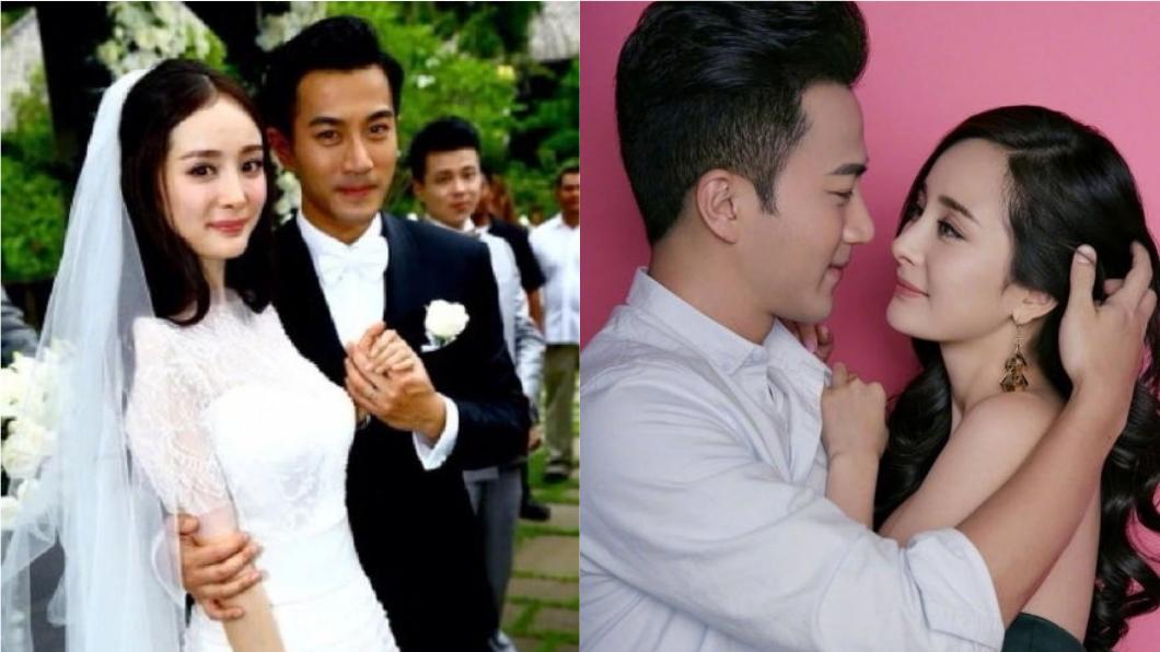楊冪與劉愷威兩人因戲劇《如意》相識相戀,2014年結婚,育有1女小糯米。圖/翻攝自《微博》
