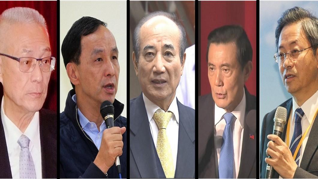 圖/TVBS照片組圖 國民黨2020誰最適合當總統? 排名曝光「他」墊底