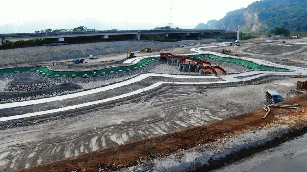 開發整地後模樣。圖/翻攝自YouTube【空拍】苗栗卓蘭大安濕地公園