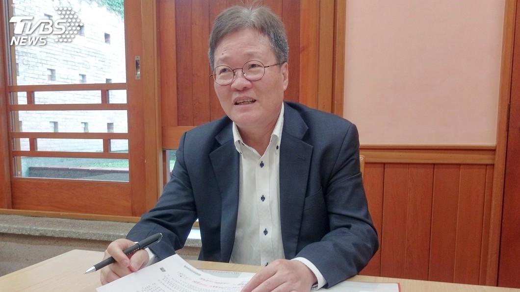 圖/中央社 結束代理職務 陳金德:何其榮幸返鄉服務
