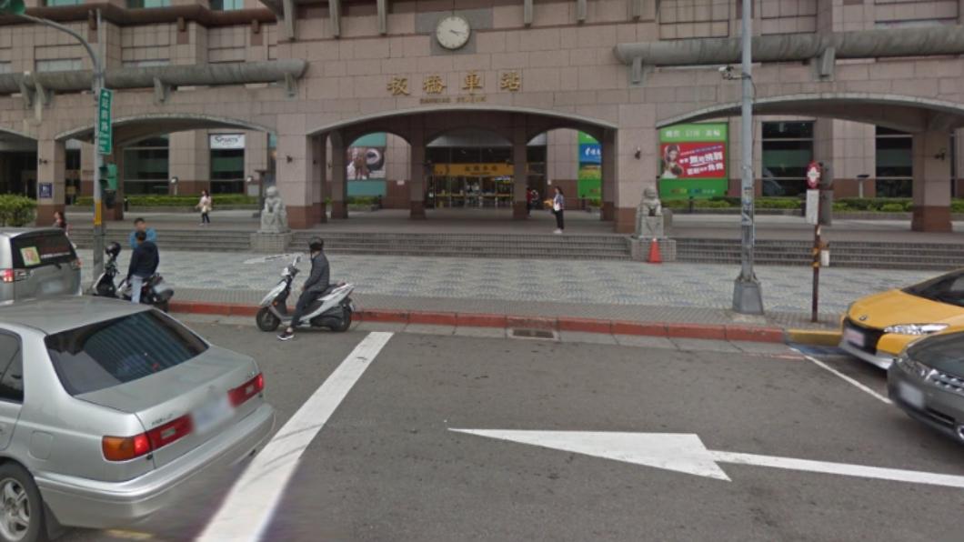 板橋車站有許多違停情況。圖/翻攝自Google Map 科技執法!偵測系統抓違規 臨停超過3分鐘收罰單