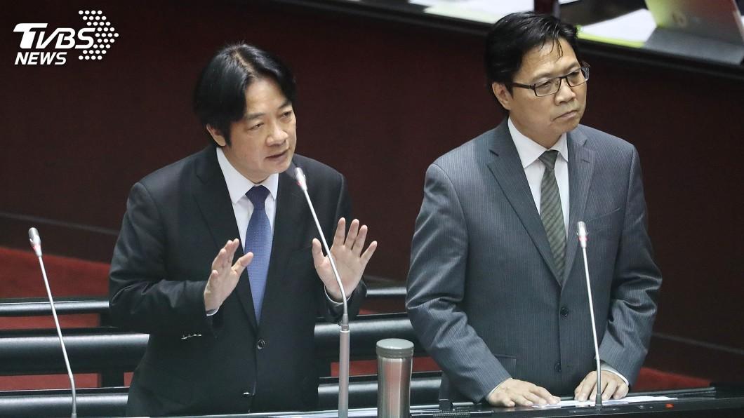圖/中央社 不滿放行管中閔 賴清德火速簽准葉俊榮辭呈