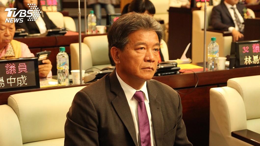 圖/中央社 南市議長選舉 郭信良退出民進黨後當選