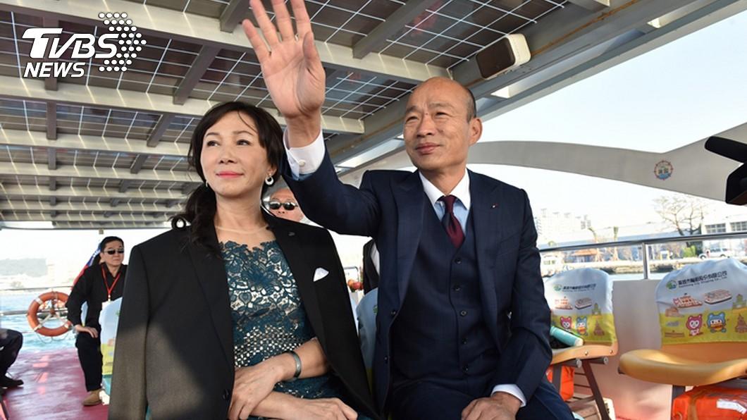 圖/TVBS 韓國瑜就職前接到恐嚇電話 「好好做…不然殺了你」