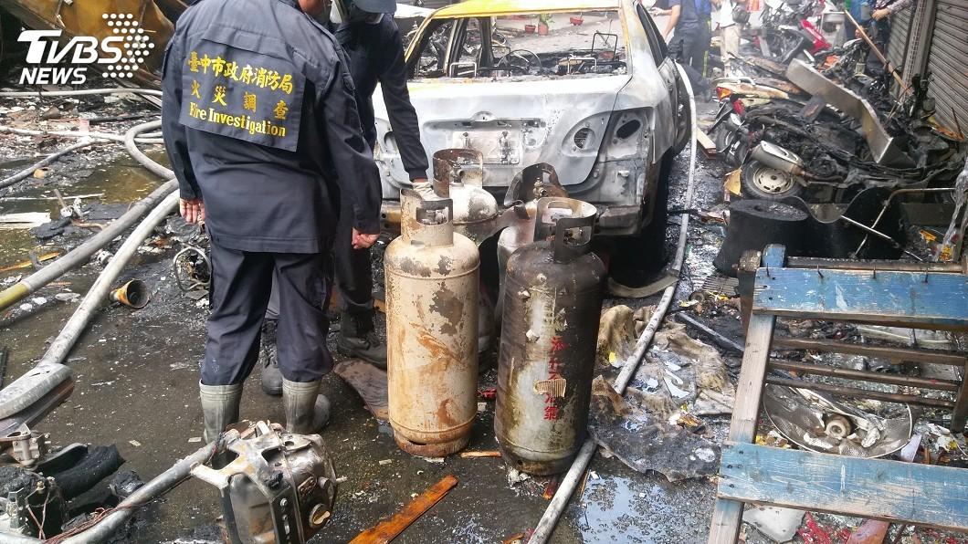 圖/中央社資料畫面 換瓦斯引逢甲氣爆 員工及業者一審判賠831萬