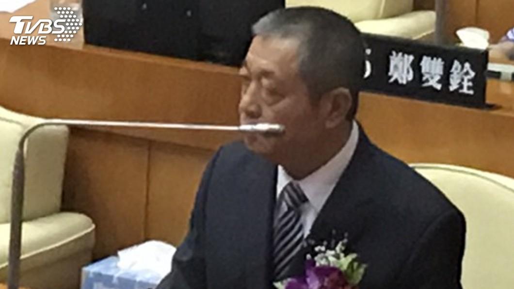 圖/中央社 屏東正副議長選舉順利 周典論連任議長