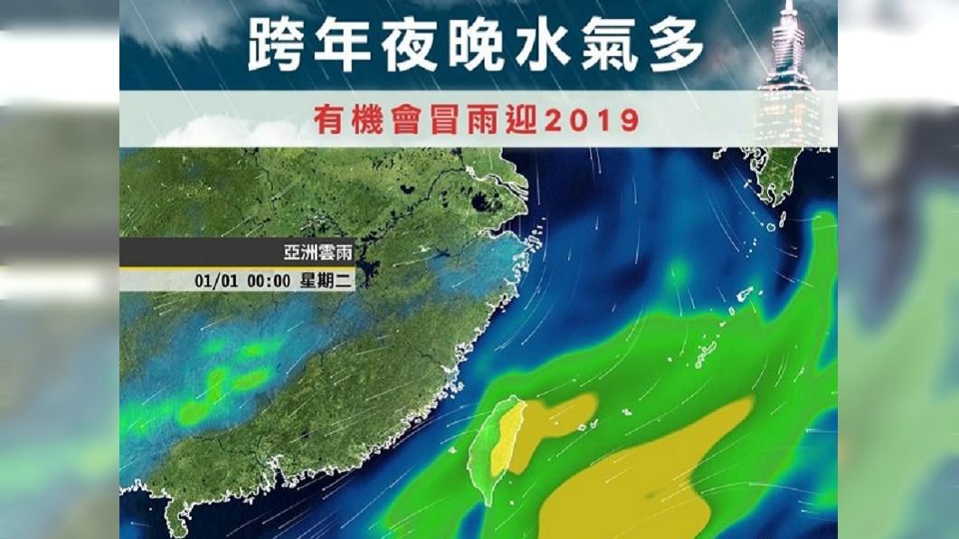 圖/翻攝臉書「天氣風險 WeatherRisk」