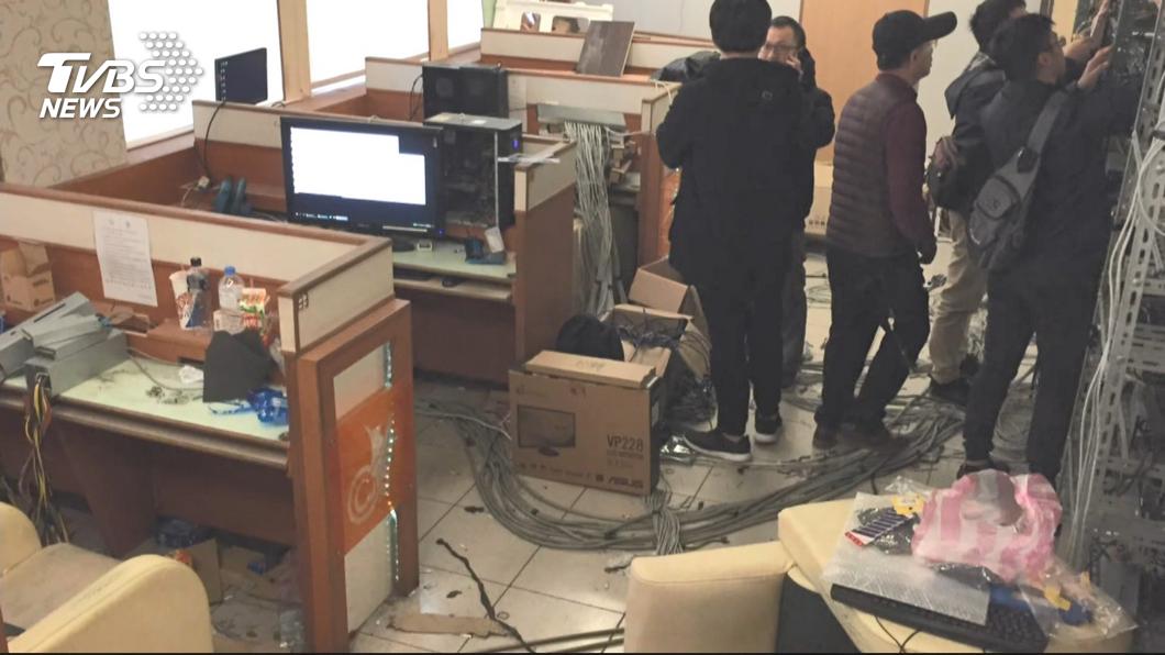 圖/TVBS資料畫面 刑事局追查乙太幣竊電案 揪出台電內鬼