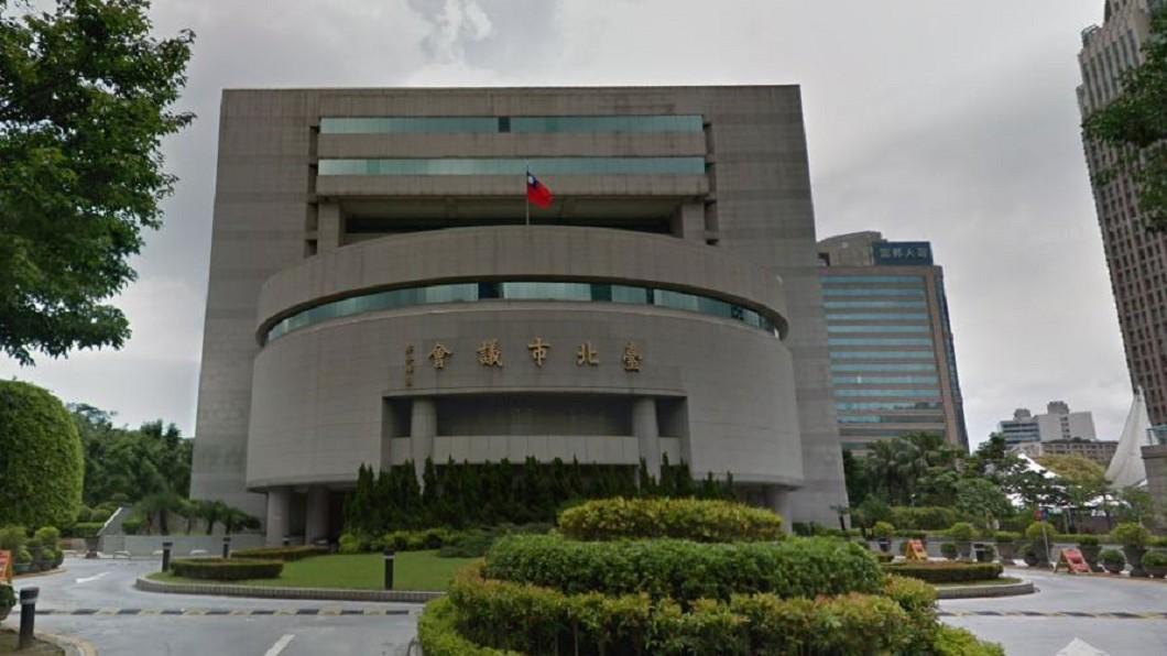 台北市議會。圖/Google Map
